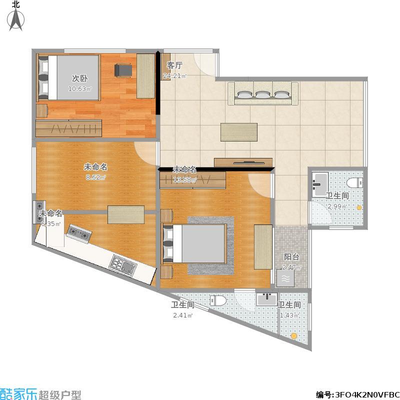 户型设计 我的小型飞机场的修改建议  浙江 金华 未知小区 套内面积