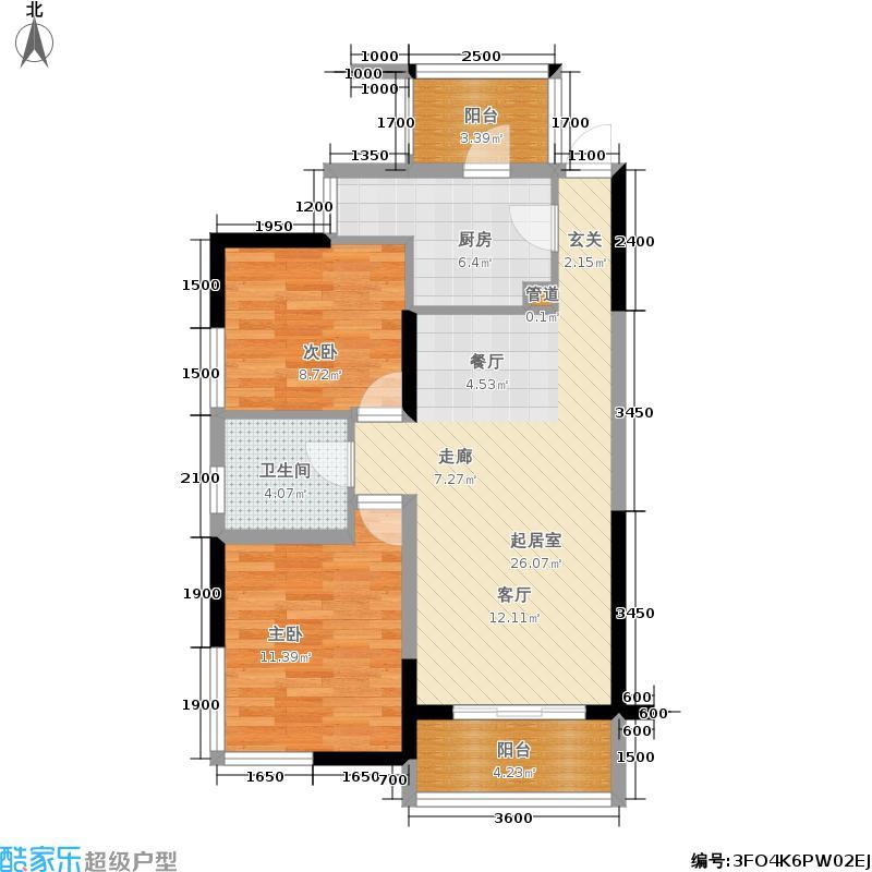 丰荟海映山庄二期塔式小高层d户型
