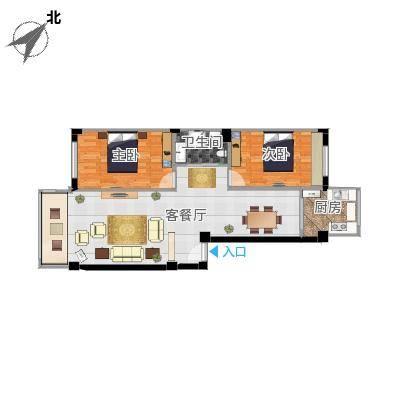 丹东扬州城20号楼户型