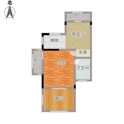 天保美墅林438.00㎡D三层户型1室1卫