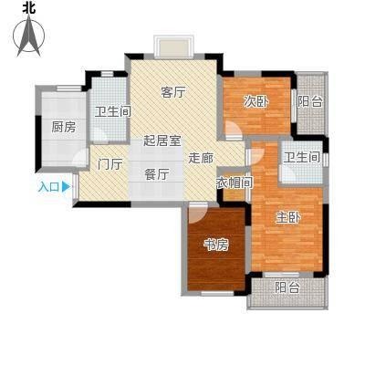 野风・现代景苑106.90㎡2#01户型10室