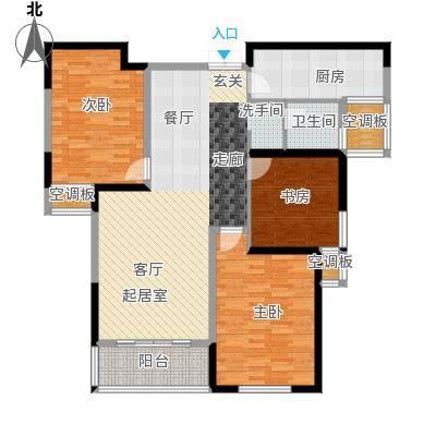 圣兰菲诺户型3室1卫1厨