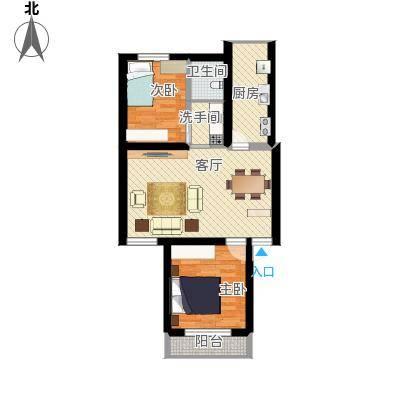 STTY两室户型图