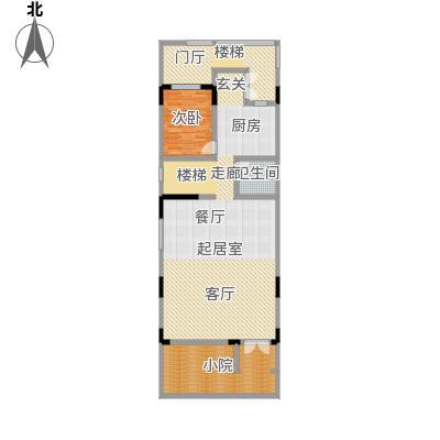 天保美墅林C一层户型1室1卫