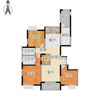 徽盐世纪广场G1户型3室2厅2卫