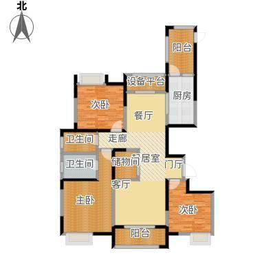徽盐世纪广场G3户型3室2厅2卫