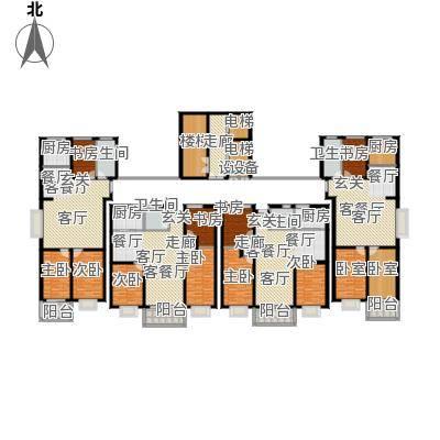 祥瑞家园112.00㎡三室两厅一卫户型3室2厅1卫