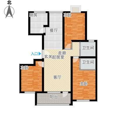 英伦花园148.00㎡高层5户型3室2厅2卫户型3室2厅2卫