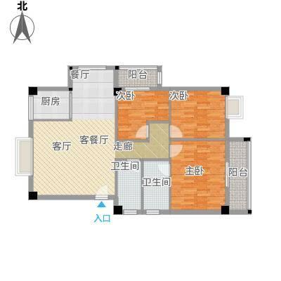 绿洲富城98.84㎡98.84-99.55㎡户型3室2厅2卫