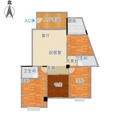 中科蓝湾国际3#B单元,两房两厅两卫,面积约101.53-101.64㎡户型