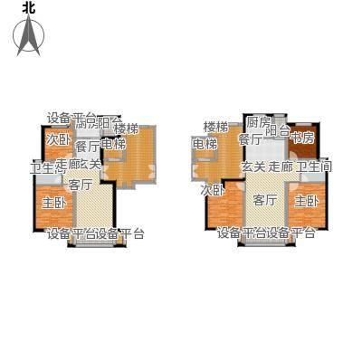 新鹏阳光华庭111.70㎡C型户型3室2厅1卫