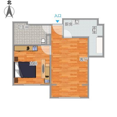 喜蜜湾A2户型图