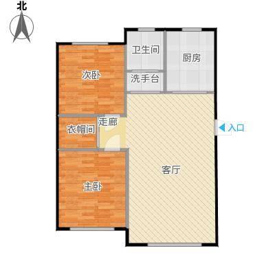 舒雅名苑88.04平方米(2)