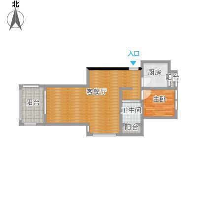 丁桥北城枫景园户型图