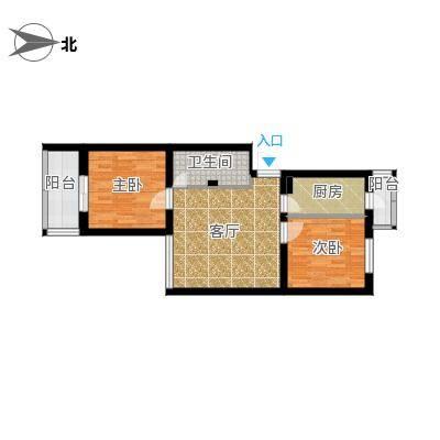 马南里小区两居室-卫生间门位置不变