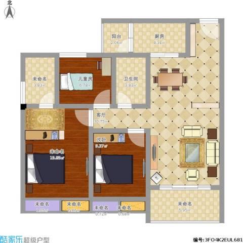 102.55方c2户型三室两厅