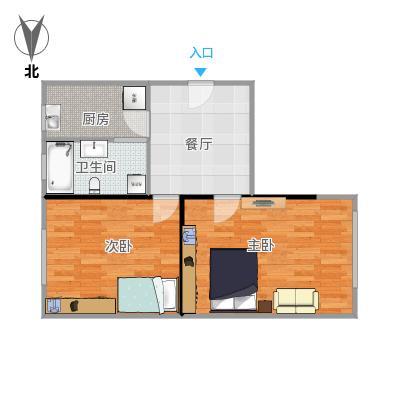 金杨新村五街坊户型59.63(未完成)