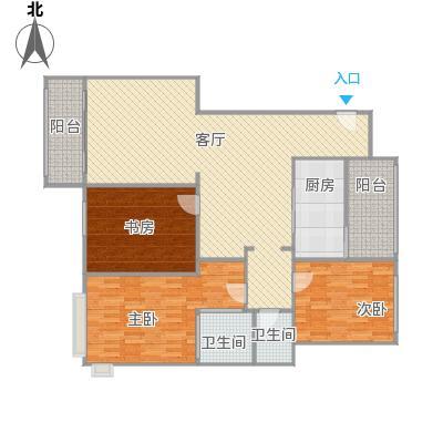西郊半岛名苑3室2厅2卫1厨133