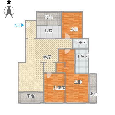 西郊半岛名苑3室2厅2卫1厨145