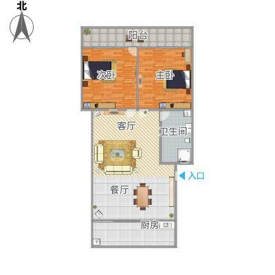华龙路单位宿舍户型图