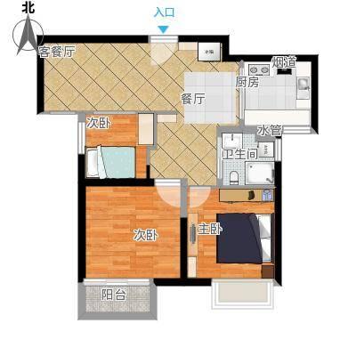 次卧改客厅-卫生间去除水管-马桶改位置