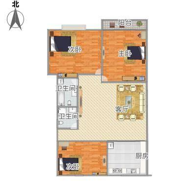 新馨家园户型图