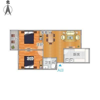娄江新村户型图