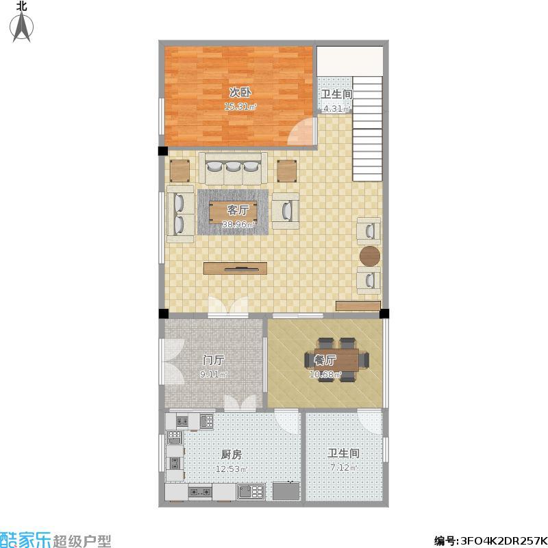 我想求一套农村自建房 二层楼房的 成型平面图跟 立体图纸