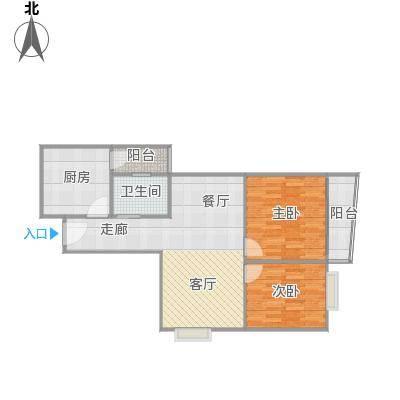 金豪嘉苑户型设计2(带装修)