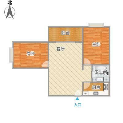 世纪锦绣户型图90.22