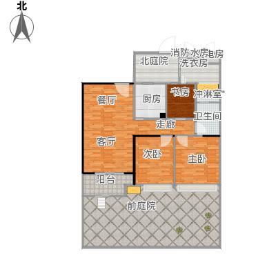 中建溪岸澜庭22号楼103_88平米A2户型(01)