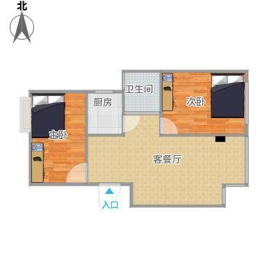 60方2房1厅