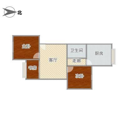 70方三房一厅