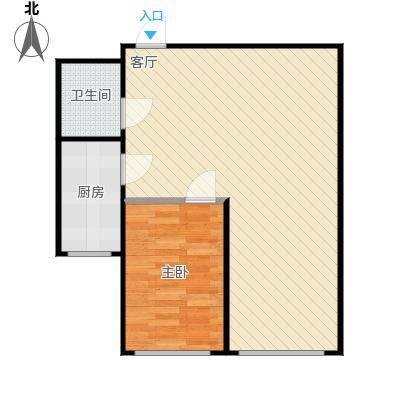一室二厅一厨一卫