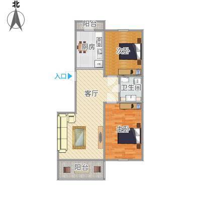 高超两室一厅