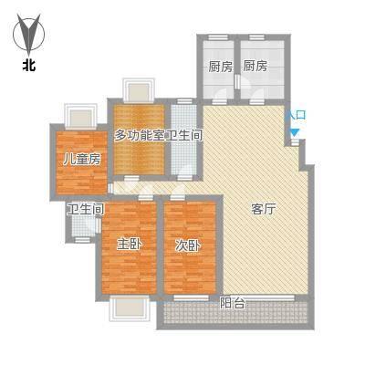 普瑞花园148方4室
