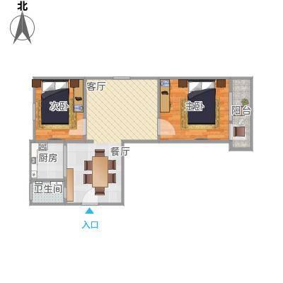 两室一厅小户型