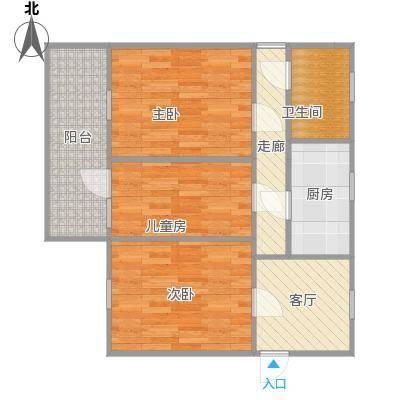 小户型小三室一厅