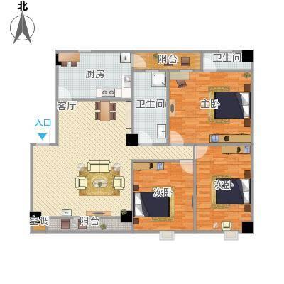 和平小区201室3室一厅