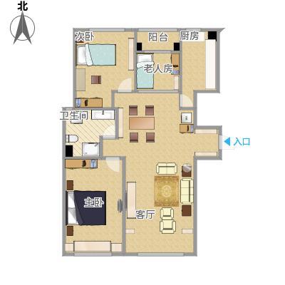 117两室两厅