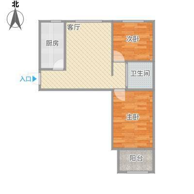 63平二室一厅