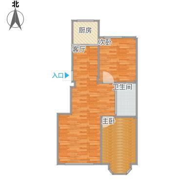 90方两室两厅