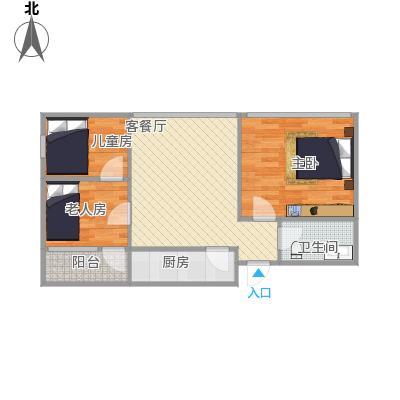 知春路52号院2室一厅