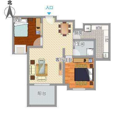 金科公园王府两室一厅