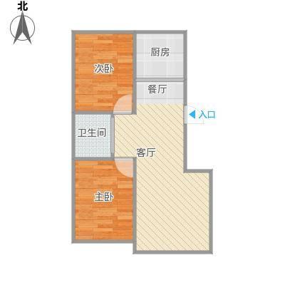 78.33平米两室