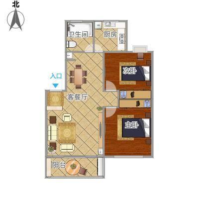 浦发绿城两室两厅