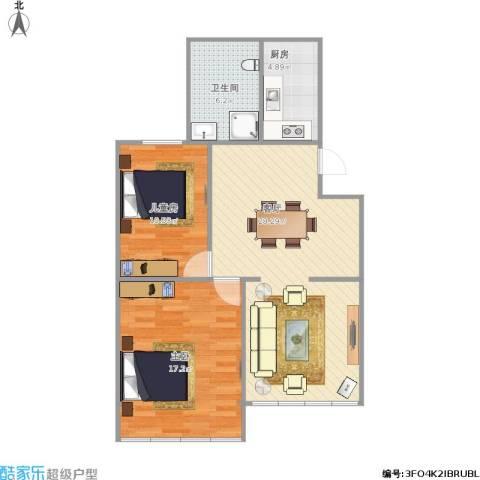 民东公寓的户型图