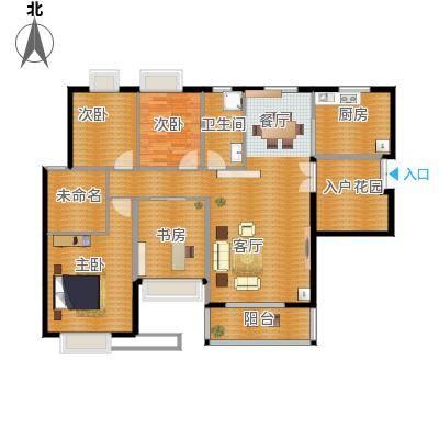 金鼎名城141.72㎡1户型3室2厅2卫1厨