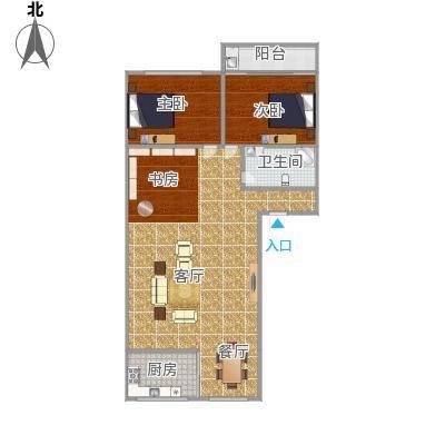 金峰花园2房