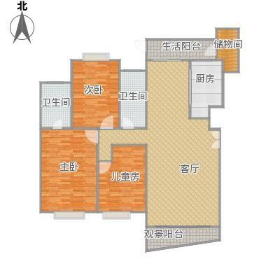 7栋3单元三室两厅非复式